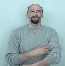 blooddraw ASL American Sign Language