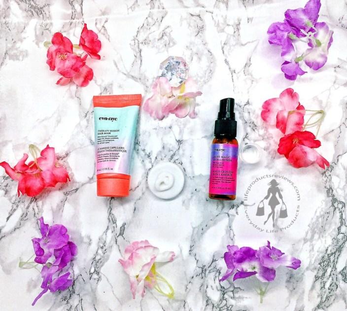 EVA-NYC-Hair-Mask-Hair-Primer-Spray-demonstration-flatlay