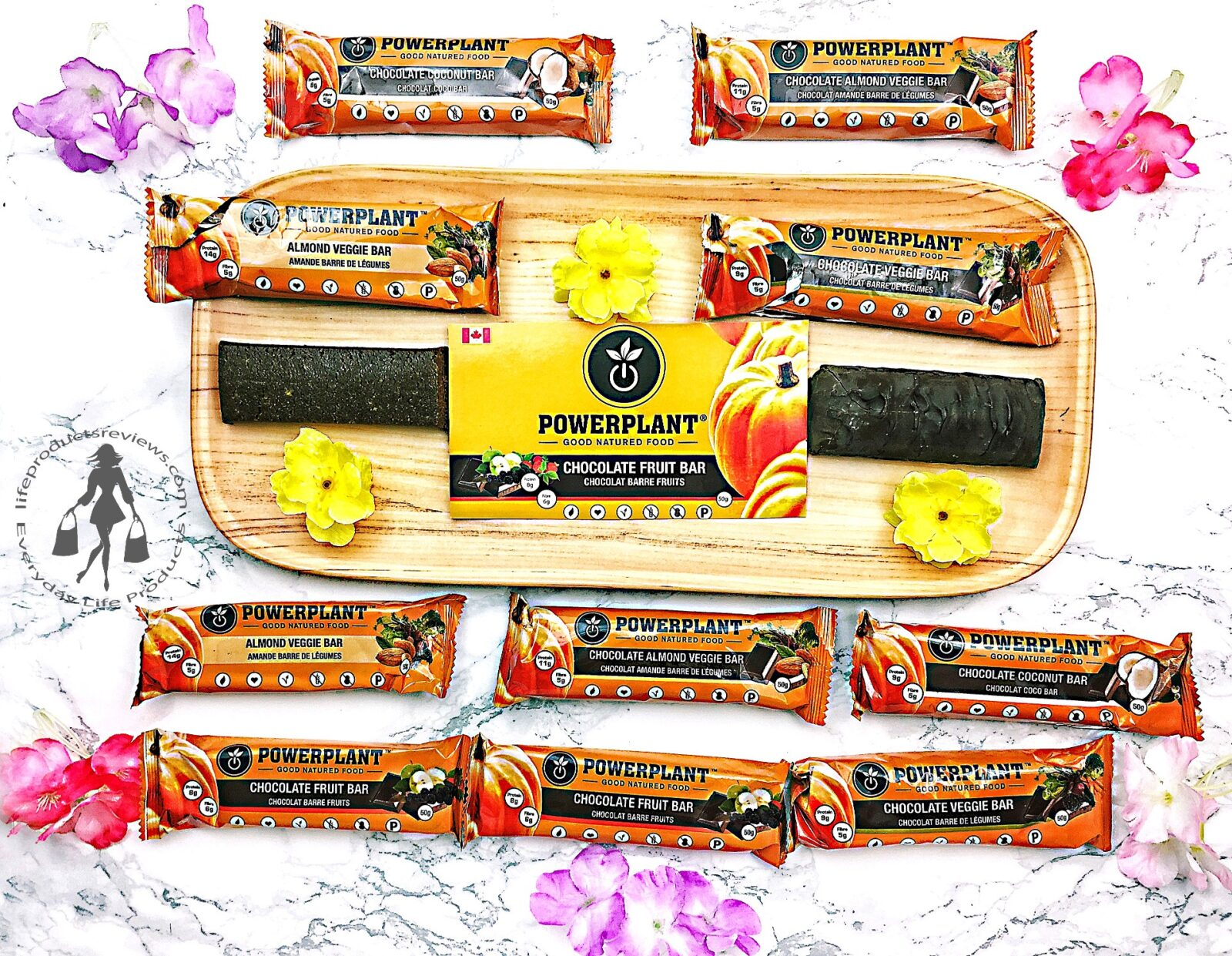 powerplant-bars-chocolate-fruit-almond-coconut-logo