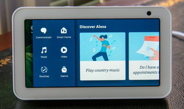 Amazon Echo Show 5 Alexa