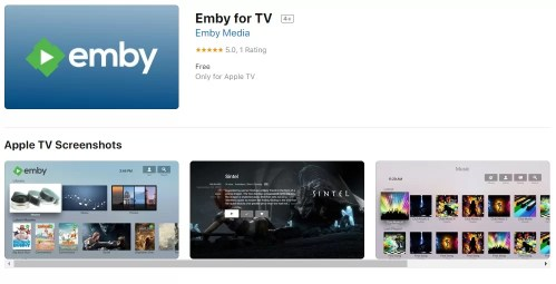 How to install Emby on Apple TV?