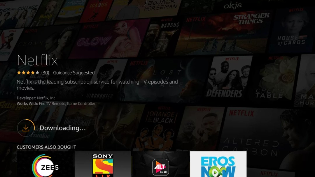 How to install Netflix on Amazon Fire Stick?