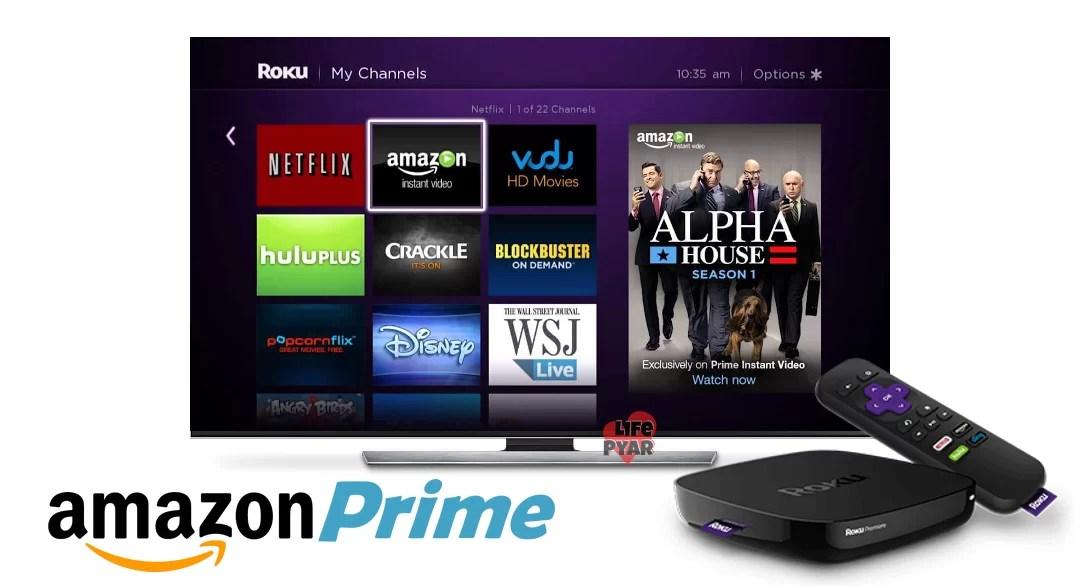 Amazon Prime Video on Roku