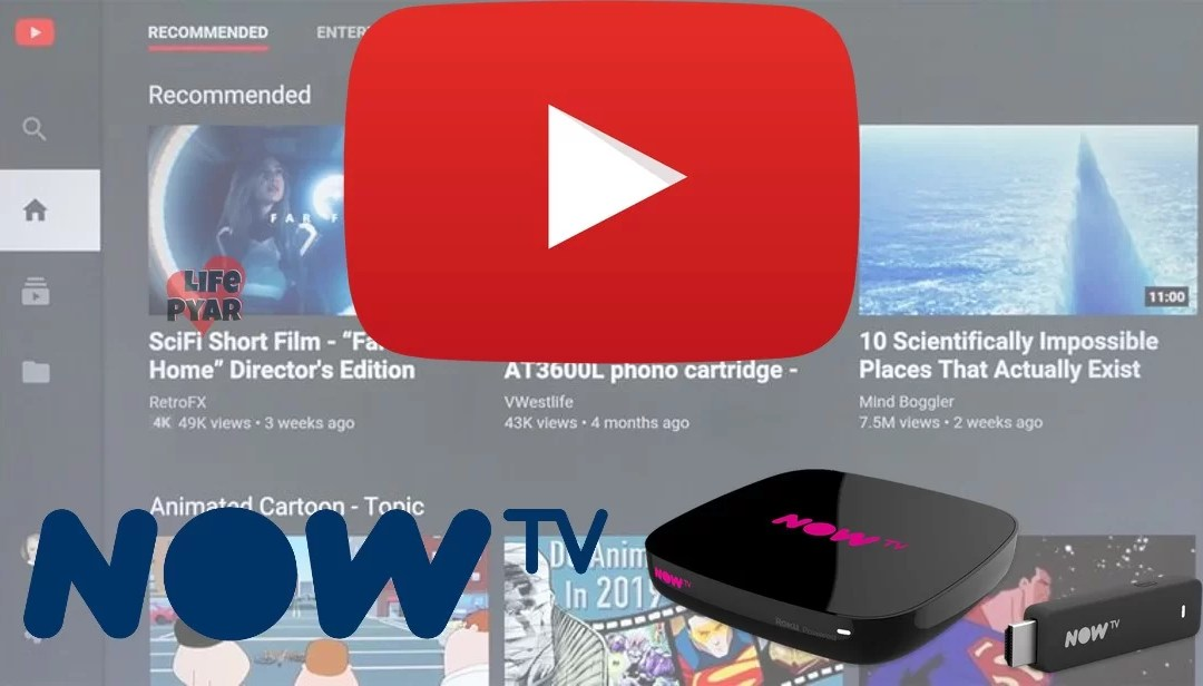 How to Install and Stream YouTube on Now TV Box?