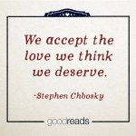 We accept the love…