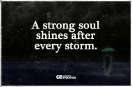 A Strong Soul Shines After…