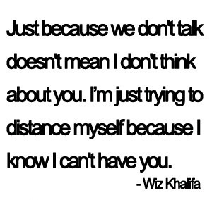 Just Because We Dont Talk Life Quotespictures