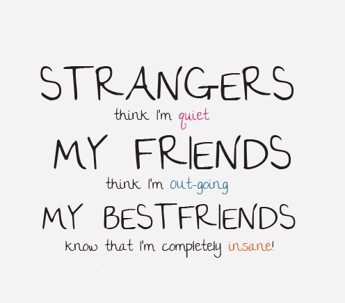 Strangers Think I M Quiet Life Quotes Pictures Life Quotes