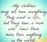 My Children May Not....