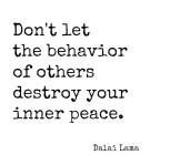 Don't Let The Behavior…