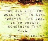 We All Die....