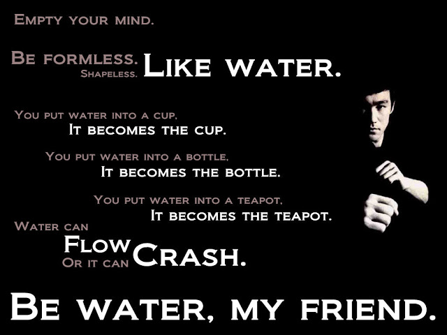 Empty Your Mind Be Formless Life Quotespictures