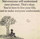 Not Everyone Will Understand....