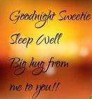 Good Night Sweetie...