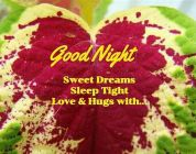 Good Night Sweet Dreams...