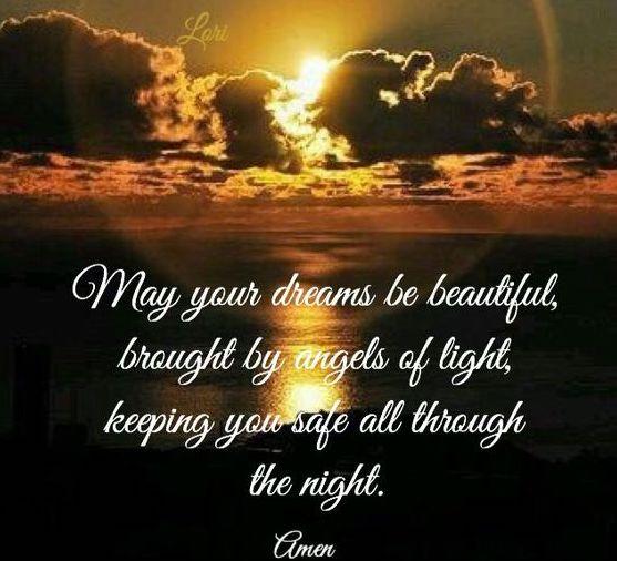 May Your dreams be beautiful