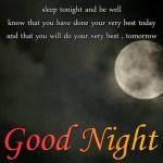 Sleep Tonight And Be Well...