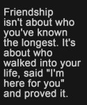 Friendship Isn't About...