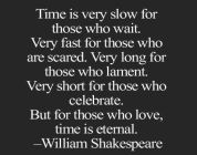Time Is Very Slow...