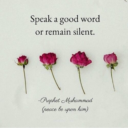 Speak A Good Word...