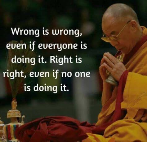 Wrong Is Wrong...