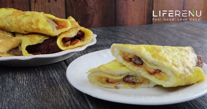 keto breakfast roll ups