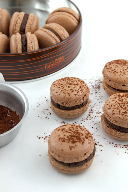 Chocolate Gingerbread Macs III