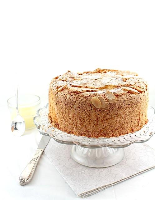 Lemon Almond Sponge Cake for Passover (Gluten-free)