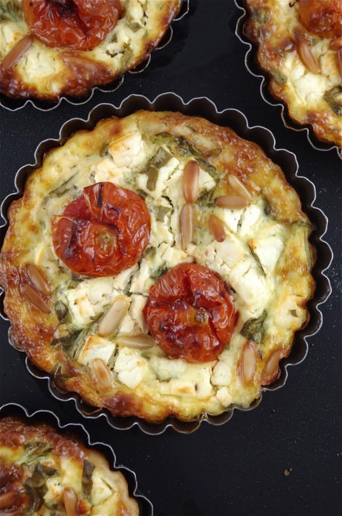 tomato feta quiche 1