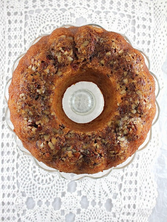 Honey Whiskey Bundt Cake  I