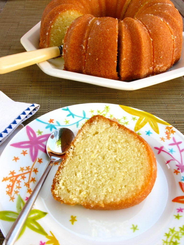 GLAZED LEMON BUNDT CAKE IV