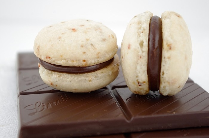 Vegetable Macarons Chili Chocolate Ganache I