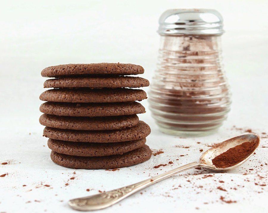 Cocoa Molasses Chew Cookies I