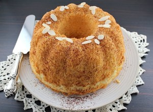 Orange Cointreau Chiffon Cake I
