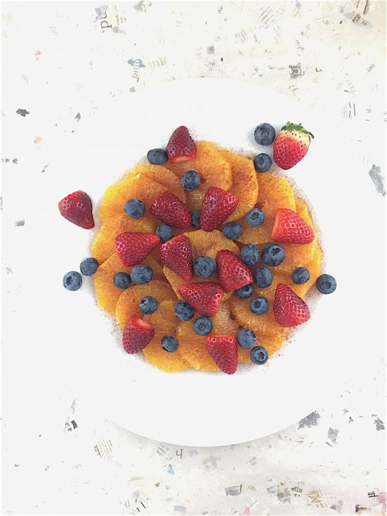 fruited summer orange salad I