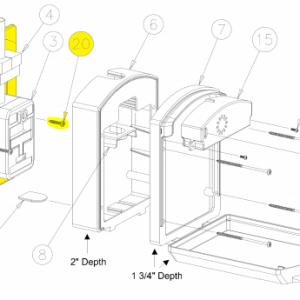 Sentry (ST-WPK01) Pull Station Cover Weatherproof Kit