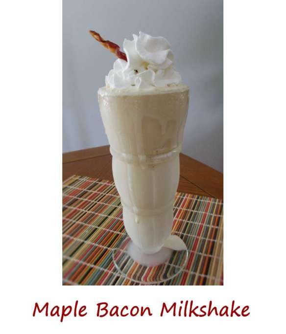 Maple Bacon Milkshake