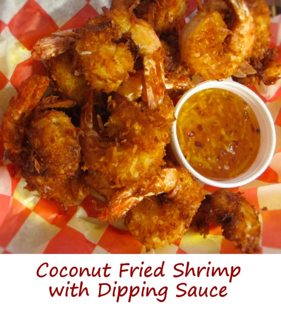 Coconut Fried Shrimp with Dipping Sauce  Lifes A