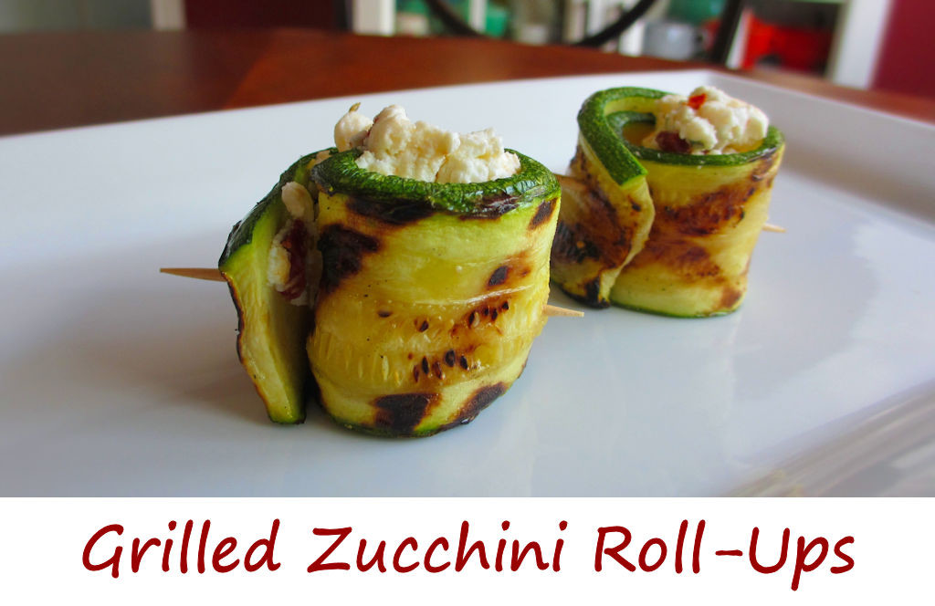 Grilled Zucchini RollUps  Lifes A TomatoLifes A Tomato
