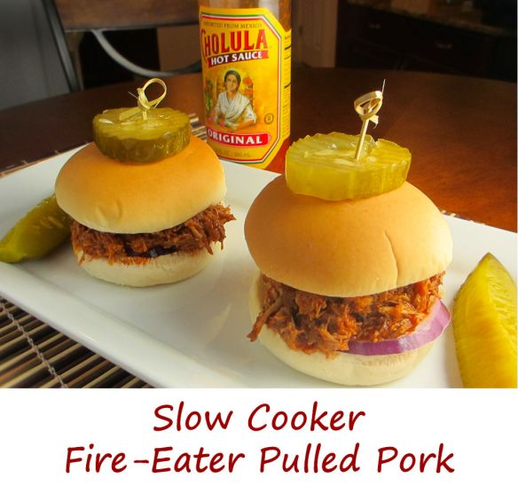 Slow Cooker Fire-Eater Pulled Pork