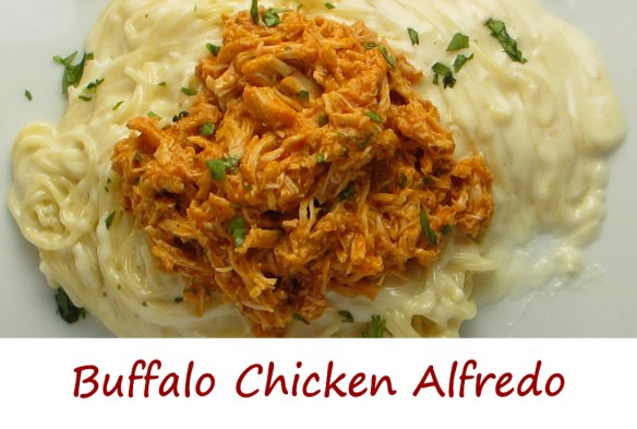 Buffalo Chicken Alfredo