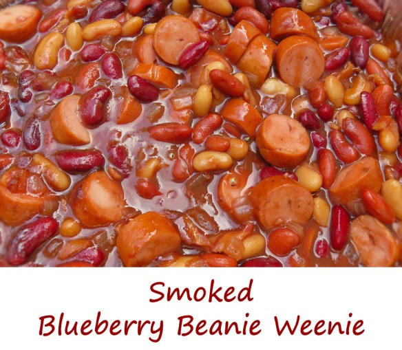 Smoked Blueberry Beanie Weenie