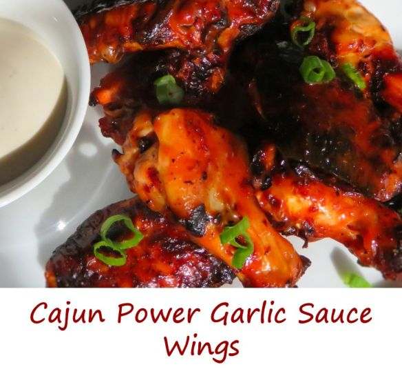 Cajun Power Garlic Sauce Wings