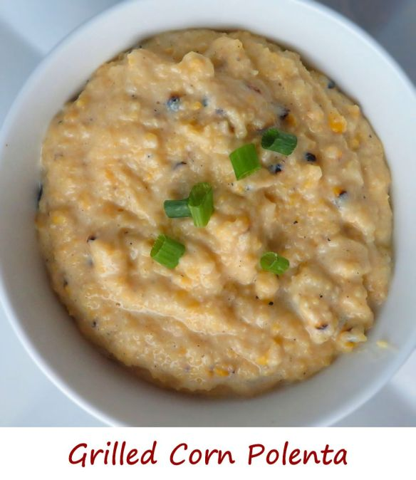 Grilled Corn Grits