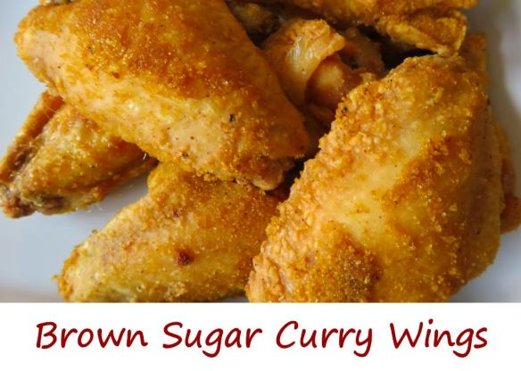 Brown Sugar Curry Wings