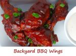 Backyard BBQ Wings