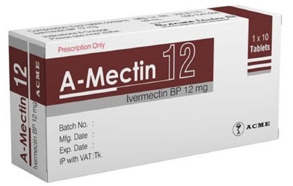 A-Mectin 12 mg Tablet (ACME Laboratories Ltd)