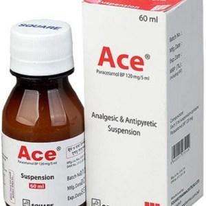 Ace Oral Suspension 60 ml (Square Pharmaceuticals Ltd)