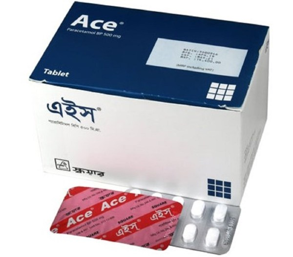 Ace Tablet 500 mg (Square Pharmaceuticals Ltd)