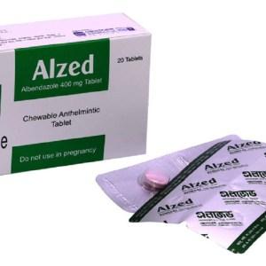 Alzed - 400 mg tablet-General Pharmaceuticals Ltd